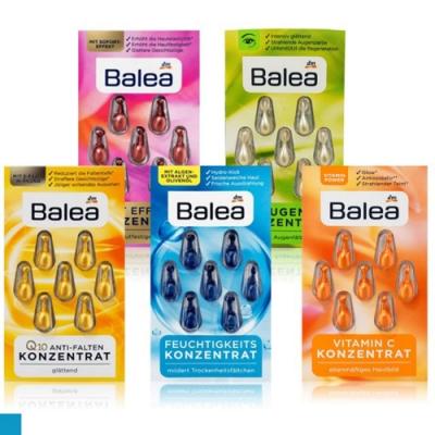 德國 Balea 精華膠囊 抗皺 保濕 抗老 7粒裝x12 共84粒