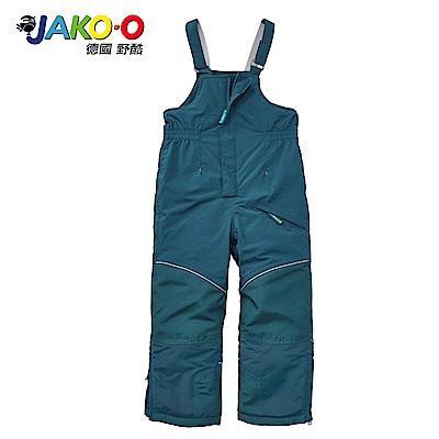 JAKO-O 德國野酷-保暖連身吊帶雪褲-綠   兒童滑雪雪衣
