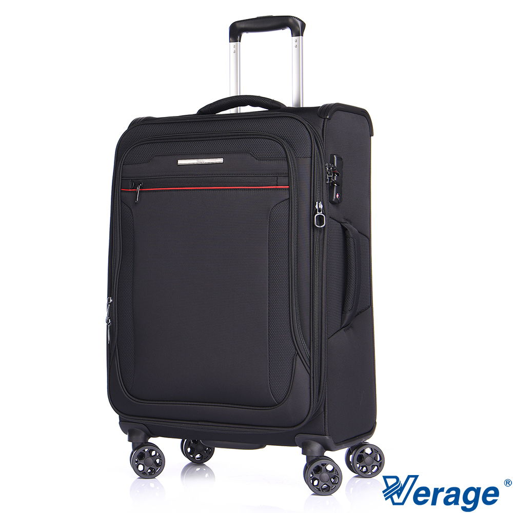 Verage~維麗杰 24吋 風格時尚系列行李箱 (黑)
