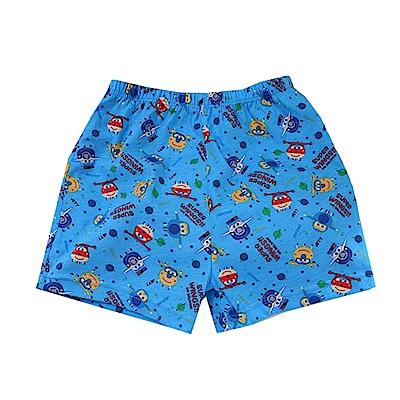 男童超級飛俠純棉平口內褲(四件一組) k50955 魔法Baby