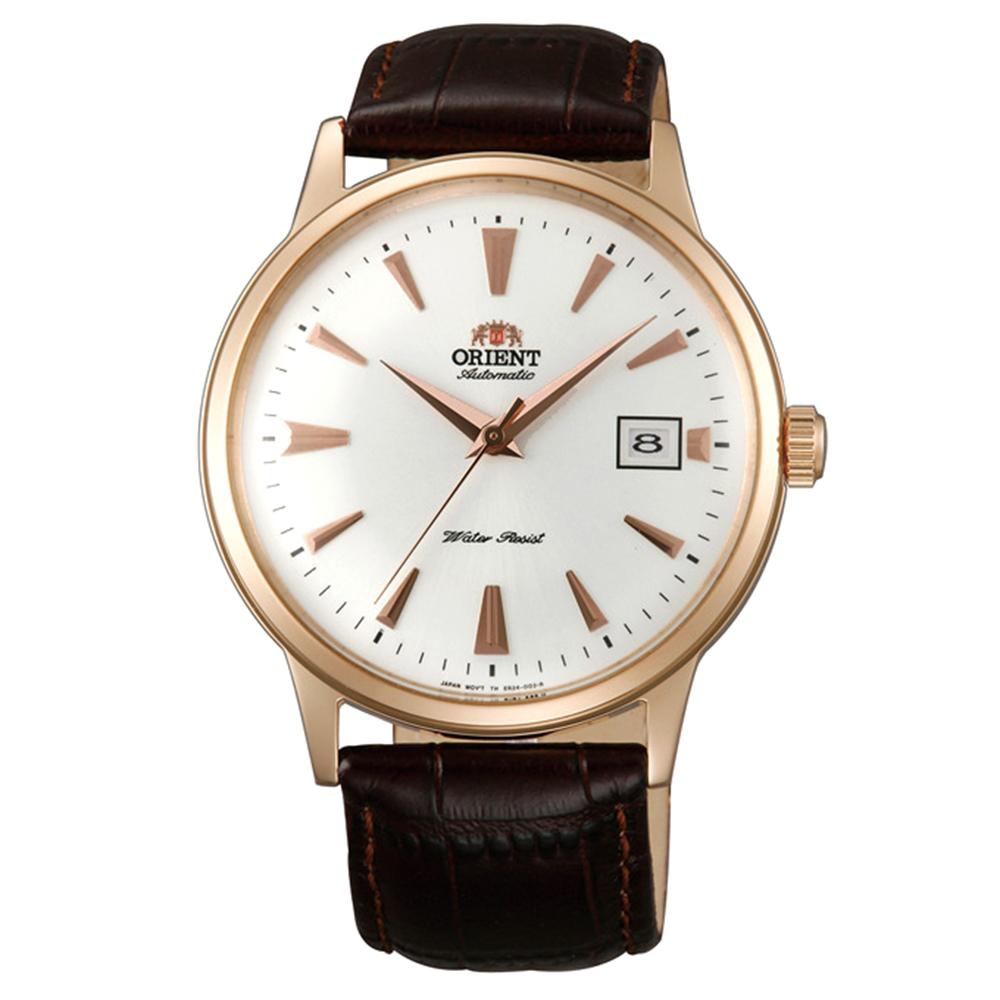 ORIENT  DATEII紳士英爵自動機械錶(FAC00002W0)-白面x40.5mm