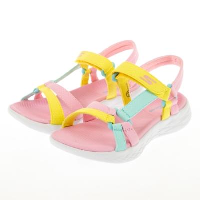 SKECHERS 女童系列 涼拖鞋 ON THE GO 600 - 302117LPNK