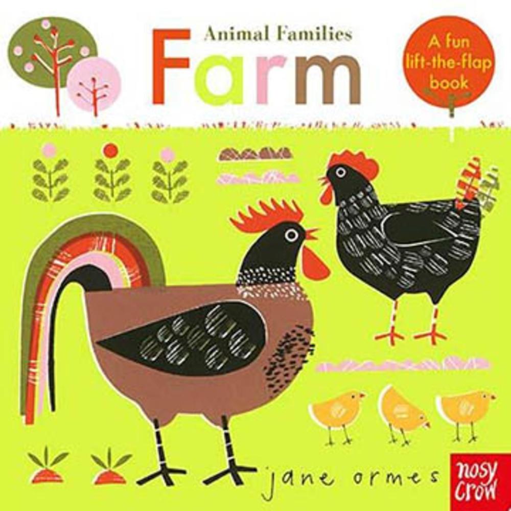 Animal Families:Farm 動物家族:農場篇趣味翻翻書