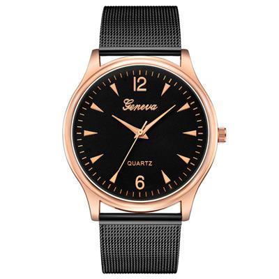Geneva 日內瓦-輕薄感時尚指針米蘭帶手錶 (5色任選)