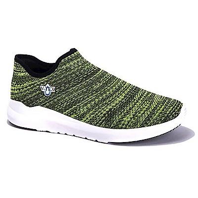 V-TEX 時尚針織耐水鞋/防水鞋 地表最強耐水透濕鞋-聖誕綠(女)