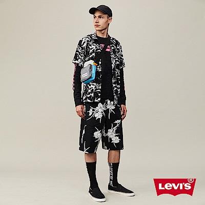 Levis 男款 抽繩海灘工作褲