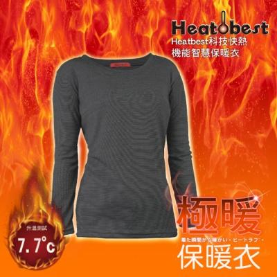 升溫7.7度極暖發熱衣【三入組】台灣製造-TTRI升溫檢測報告-AREXSPORT