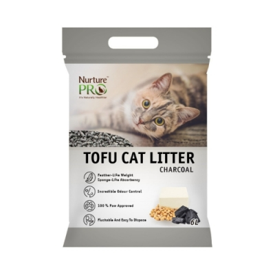 Nurture PRO天然密碼-100%天然豆腐砂(木炭) 6L/2.8KG