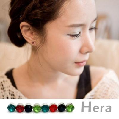 Hera赫拉- 吸磁貼單顆閃亮鋯石耳環