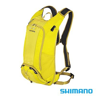 SHIMANO UNZEN 登山車後背包-無水袋14L 橄欖黃