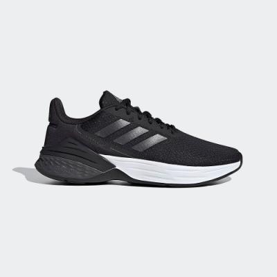 ADIDAS 透氣 舒適 運動 慢跑鞋 女鞋 黑白 FX3642 RESPONSE SR