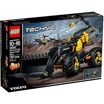 樂高LEGO 科技系列 LT42081 Volvo Concept Wheel Loa