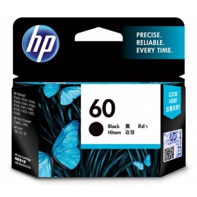 HP CC640WA 原廠黑色墨水匣 NO:60