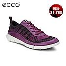 ECCO INTRINSIC 1 都市輕量步行運動鞋 女 紫紅