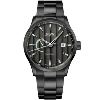 MIDO美度 先鋒Caliber 80動力儲存顯示機械男錶(M0384243306100)