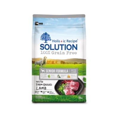 SOLUTION耐吉斯-無穀高齡犬羊肉配方 16.5lbs (7.5kg)