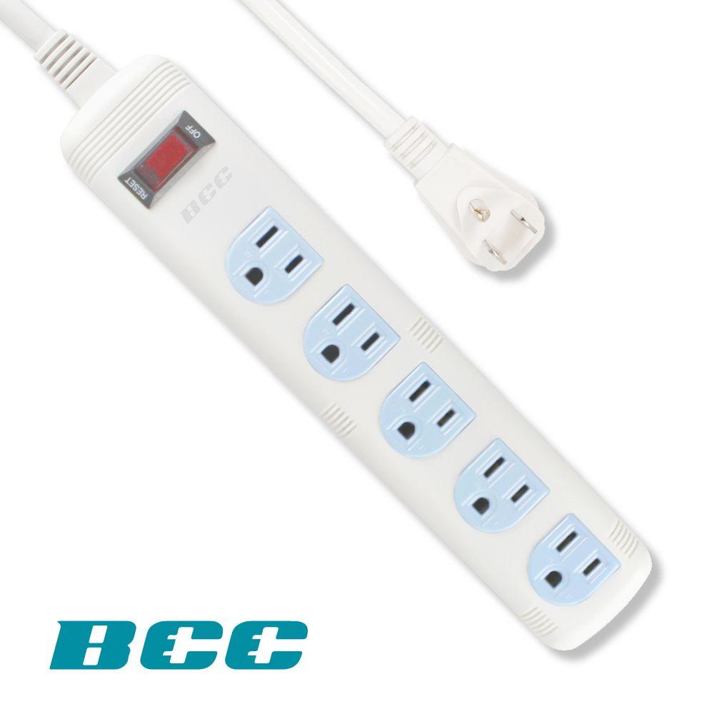 BCC FC135 1切5插延長線