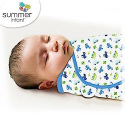 美國 Summer Infant 嬰兒包巾 懶人包巾薄款 -純棉S 車車世界