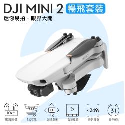 DJI Mini 2 摺疊航拍機 空拍機 暢飛套裝版 4K畫質 (聯