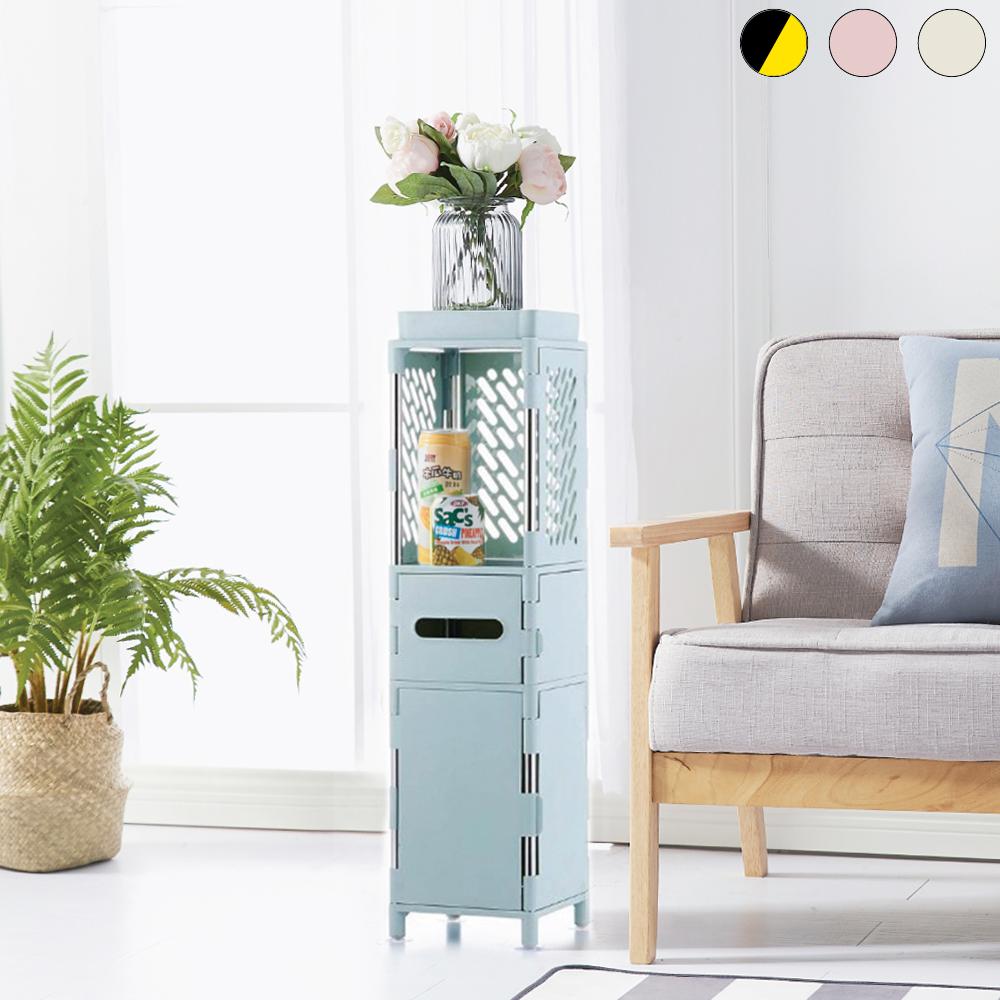 lemonsolo日式多功能儲物收納架-B款 北歐風置物架 夾縫收納架