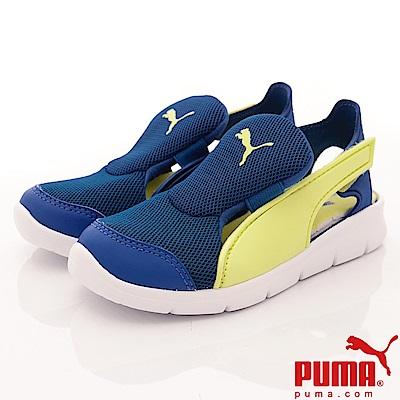 PUMA童鞋 護趾輕量涼鞋款 ON90698-01藍(中小童段)