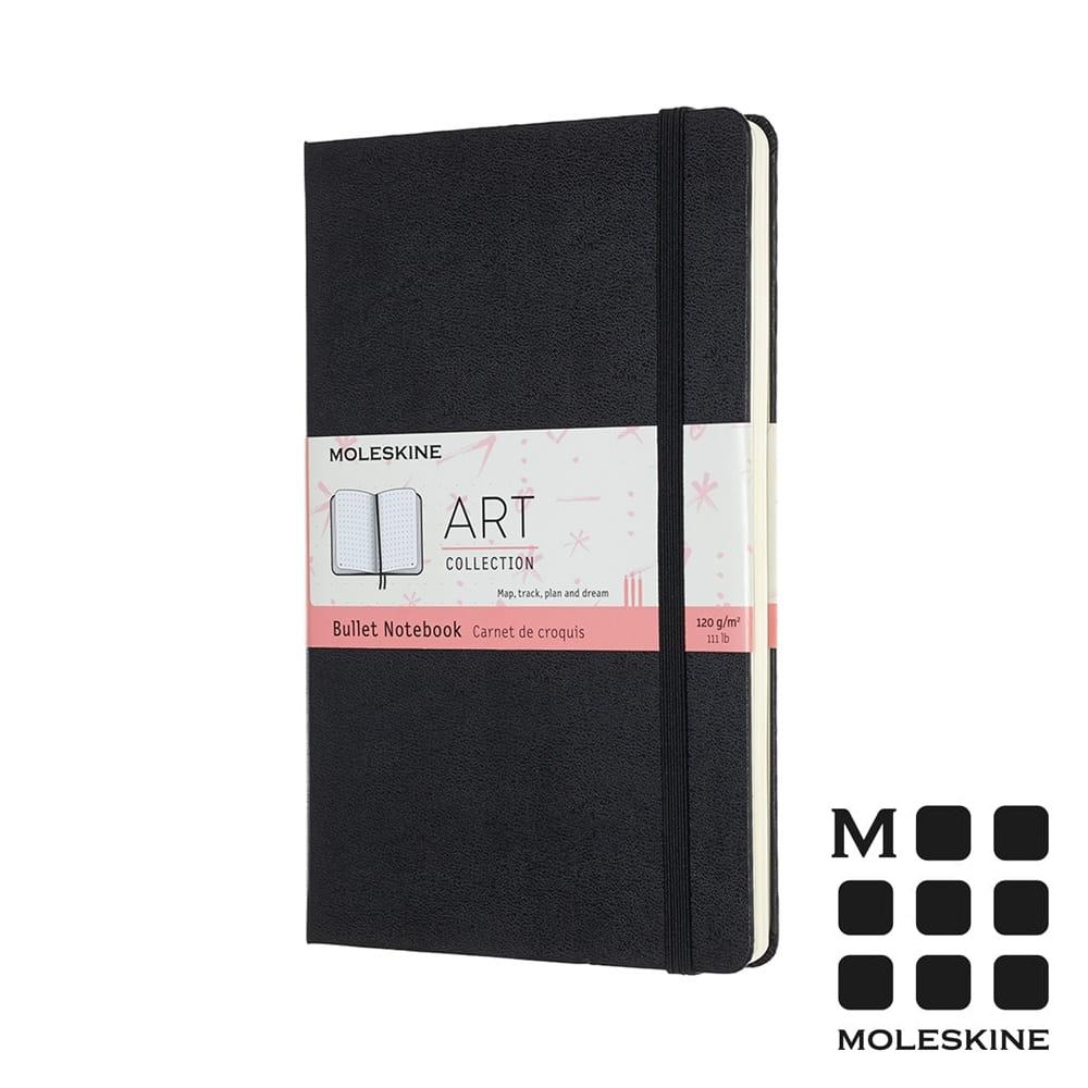 MOLESKINE 藝術系列子彈筆記本(L型) -黑