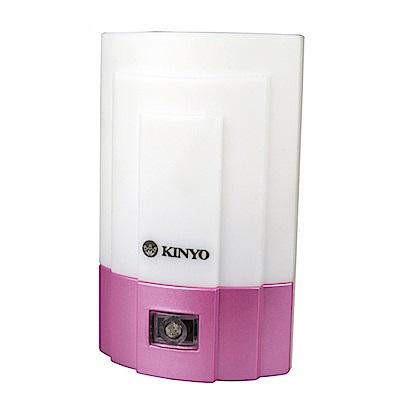 KINYO 光控LED小夜燈-白光