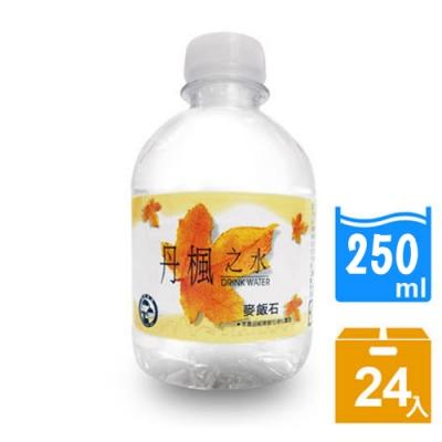 DRINK WATER丹楓之水 麥飯石礦泉水250ml(24瓶/箱)