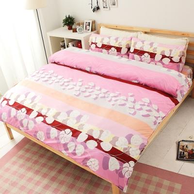 Goelia 瀰漫 加大四件式鋪棉兩用被床包組