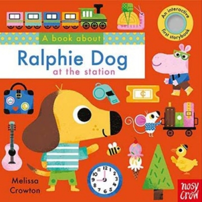 A Book About Ralphie Dog At The Station 拉菲搭火車趣味學習書