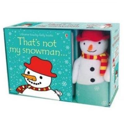 That s Not My Snowman 那不是我的雪人幼兒觸摸書娃娃禮盒組