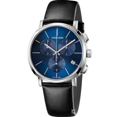 Calvin klein Posh 紳士的品格計時男錶(K8Q371CN)42mm