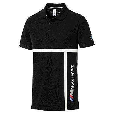 PUMA-男性BMW系列MMS Polo衫-黑色-歐規