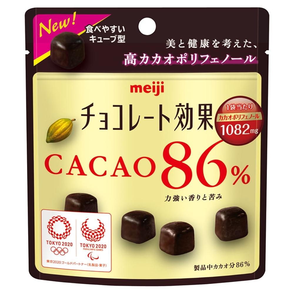 明治 CACAO 86%黑巧克力袋裝37g(巧克力)