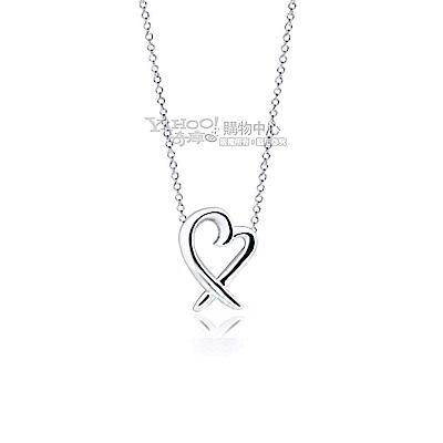 Tiffany&Co. Loving Heart 純銀項鍊(迷你)