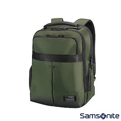 Samsonite新秀麗 CityVibe筆電後背包15.5吋(軍綠)