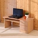 BuyJM 低甲醛防潑水無銳角二抽和室電腦桌/書桌100x49x42公分