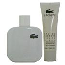 Lacoste Blanc白色 Polo衫淡香水 100ml +沐浴精 50ml 無外盒