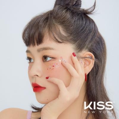 KISS New York-JellyFit果凍光療美甲貼(KNJ03K 桃色心雨)