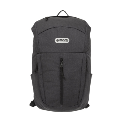 【OUTDOOR】風格前線-15.6吋筆電後背包-碳灰色 OD101109CL