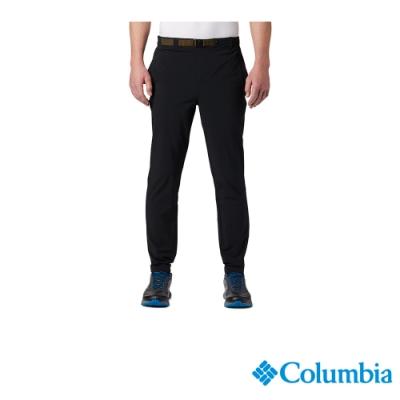 Columbia 哥倫比亞 男款 - Omni-Shade 防曬50彈性運動長褲-黑色 UAE03380BK
