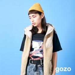gozo 品牌標語設計印花T恤(二色)