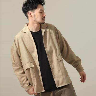 寬版開襟襯衫 (10色) -ZIP日本男裝