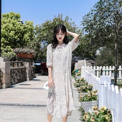 IMStyle 韓版時尚小清新百褶連身裙【正品】
