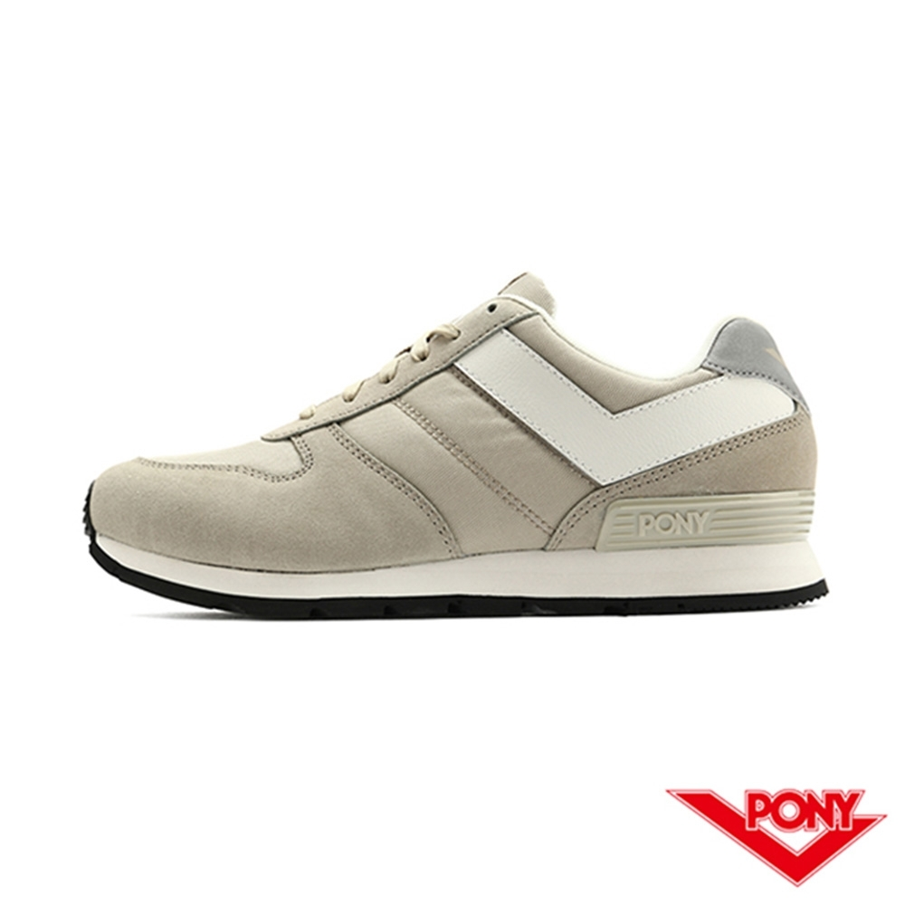 【PONY】SOLA系列 百搭慢跑鞋 休閒鞋 情侶鞋 男鞋-灰