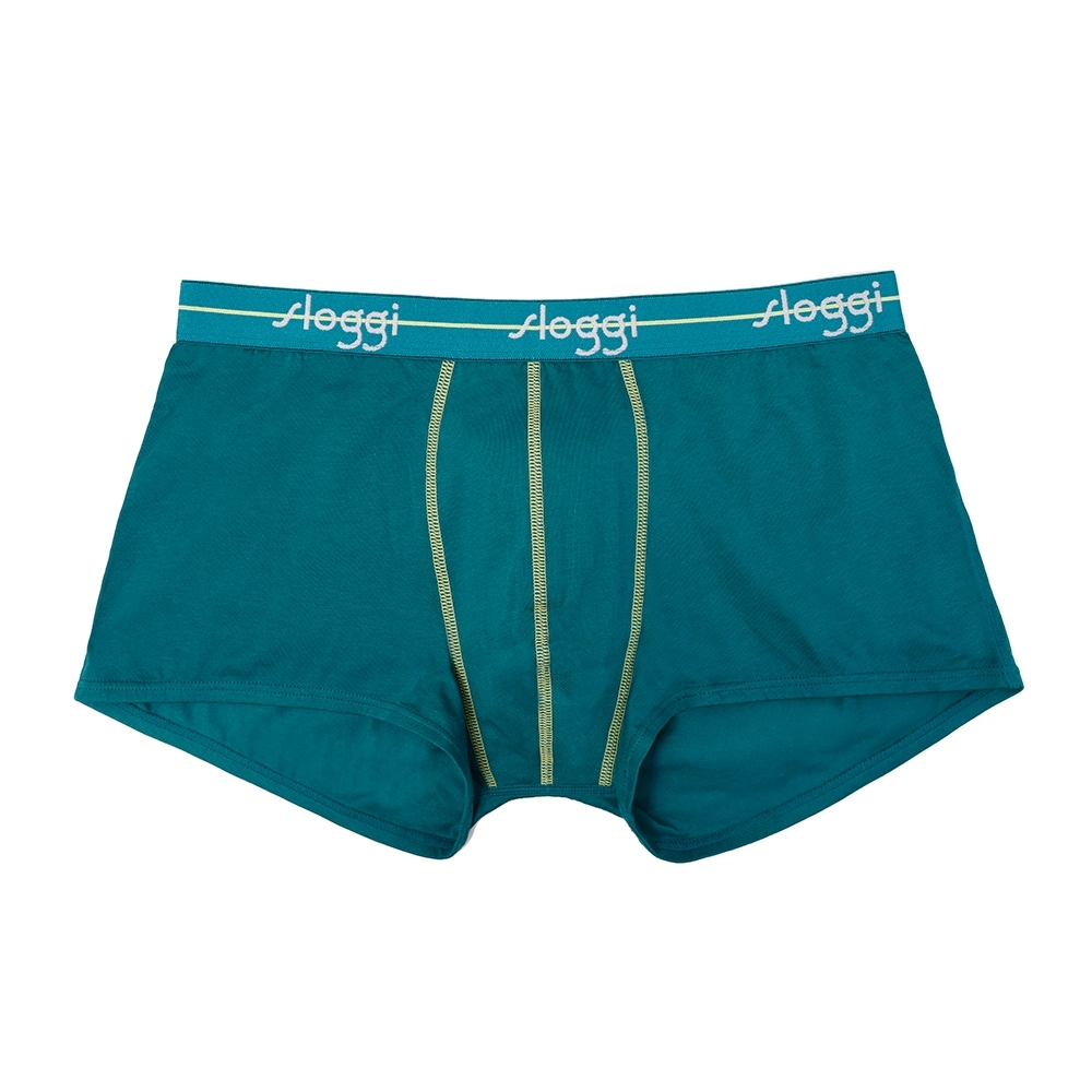 sloggi Men Start系列寬鬆平口褲 綠色世界 C76-927 6I