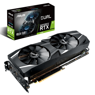 華碩 ASUS Dual GeForce RTX 2080 8GB 顯示卡