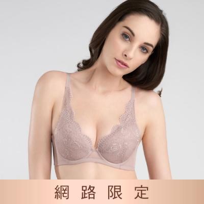 黛安芬-美型嚴選系列 包覆托高 B-E罩杯內衣 質感膚
