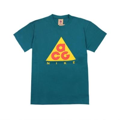 Nike T恤 ACG Graphic T-Shirt 男款 運動休閒 圓領 棉質 基本款 百搭 綠 橘 黃 CV1533381