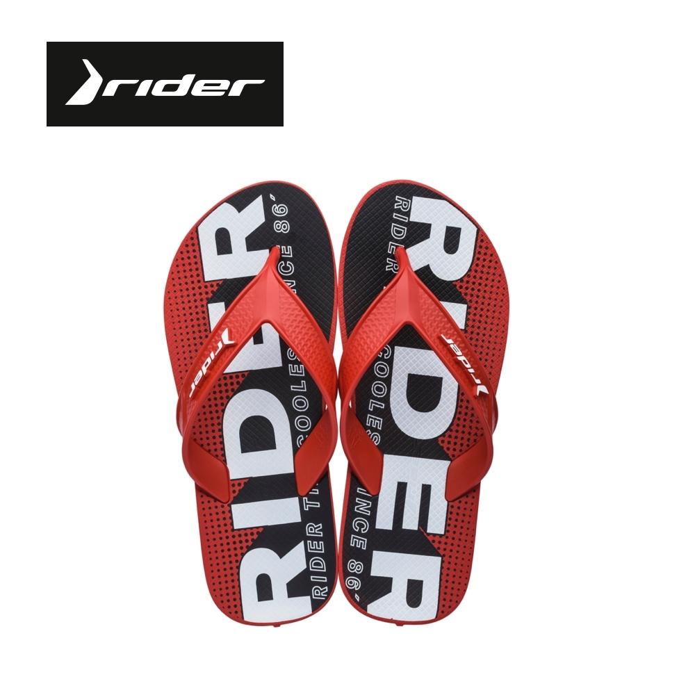 Rider [Men] STREET 街頭勇士系列 人字夾腳拖 男鞋 紅